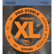Струны для бас-гитары D'ADDARIO EPS160