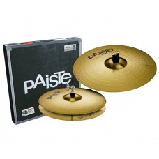Тарелки PAISTE 101 BRASS ESSENTIAL SET (13/18)