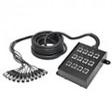 Мультикор AudioTeknik ECON 12-0 BOX XLR 10 m