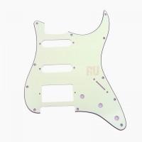 Панель HSS для  Stratocaster US/Mexico, трехслойная, слоновая кость